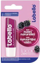 Donkerrode LABELLO FRUITY SHINE BLACKBERRY BLISTER