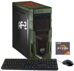 Hyrican Gaming PC AMD Ryzen? 7 1700 16GB SSD + HDD AMD RX580 »Military 5526«