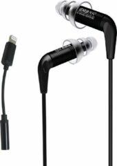 Zwarte Etymotic ER3XR - In-ear headphones, Lightning Adapter, dubbele flens tips