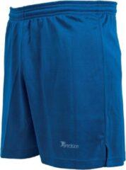 Precision Voetbalbroek Madrid Junior Polyester Blauw Maat S