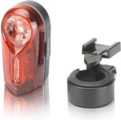 XLC Neso Fiets Achterlicht - 2 Led - 1 Lux - Rood