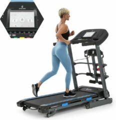 Zwarte Capital_sports Pacemaker F120 loopband , iFit-app via bluetooth , 4P-AntiShock Suspension , 12 trainingsprogramma's