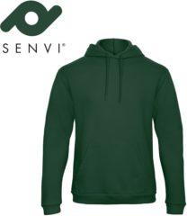 Merkloos / Sans marque Senvi Fleece Crew Hoodie - Kleur: Groen – Maat 4XL