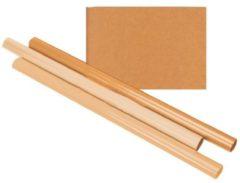 Haza Inpakpapier kraft gestreept 60gr 100cmx10m op rol