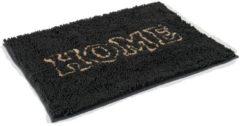 Zolux microfibre droogmat home zwart 90x65 cm