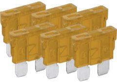 6pcs.car blade fuse assortment 5A - Goobay
