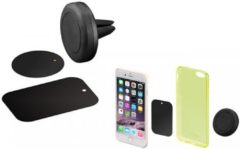 Goobay 47145 Ventilatierooster Telefoonhouder voor in de auto Magneetbevestiging, 360° draaibaar 50 - 90 mm