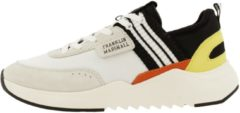 Franklin & Marshall Alpha Game Sneaker Men Wht-Blk 40