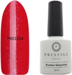Rode Prestige nails Prestige Gelpolish Sparkly Red
