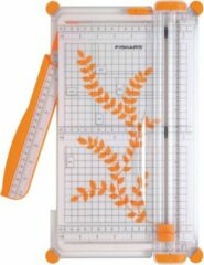 Oranje Fiskars - SureCut Snijmachine - Papier -Groot A4 - 30 cm