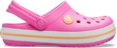 Crocs Instappers - Maat 34/35 - Unisex - roze/wit/oranje