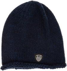 Blue Emporio Armani EA7 Cuffia berretto donna mount urban 1