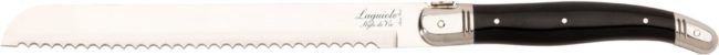 Afbeelding van Laguiole Style de Vie Broodmes Premium Line - zwart - in giftbox