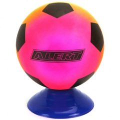 Alert Voetbal PVC Regenboog / Maat 5 / 200 Gr