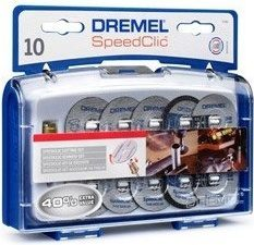 Dremel SC690 SpeedClic accessoireset - Snijset voor te snijden - 10 stuks - Met opspandoorn