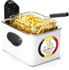 Witte Frifri 1948b - hscf5050 high speed classic family 3200 watt koude zone 4,5l friteuse metal wit