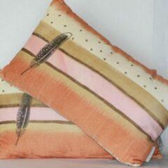 Goround Interior Goround | Kussen | Vera | Rechthoekig| Oranje/Roze