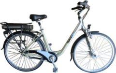 SAXXX Comfort City E-Bike, gelbgrau/silber