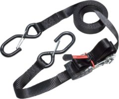 Zwarte MasterLock Spanband met ratel 5mx25mm 3109EURDAT