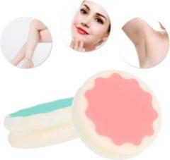 Blauwe Hiden | Waxing Spons - Beauty - Vrouwen - Mooi & Gezond - Brazilian Wax | 2 stuks