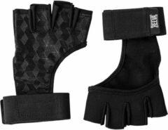 Zwarte Reeva sporthandschoenen 2.0 - crossfit handschoenen - geschikt voor fitness en crossfit - small