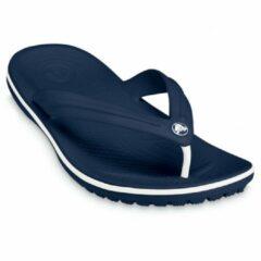 Donkerblauwe Teenslippers Crocs Crocband Flip