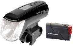 Trelock LS 950 CONTROL ION / LS 720 Beleuchtungsset Fietsverlichting sets zwart