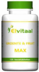 Elvitaal Jumboos Groente Fruit Kauwtabletten 120st