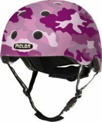 Melon Camouflage Pink Fietshelm - Maat XL-2XL (58-63cm) - Roze