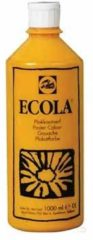 Plakkaatverf Talens ecola flacon van 1.000 ml, geel