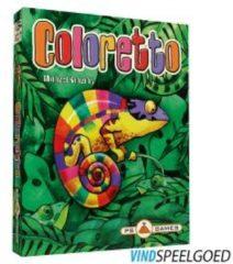 Groene PS Games Coloretto Kaartspel