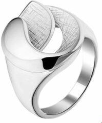 Quickjewels huiscollectie Huiscollectie 1313821 Zilveren ring gescratched