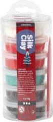 Silk Clay® Koker Kerst 6x14 gr