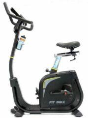 Zwarte Hometrainer Fitbike Senator iPlus - Ergometer - fitness fiets incl. tablethouder en bluetooth