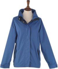 Blauwe MGO Leisure Wear Logan Jckt.Waterpr./M/Bluebell