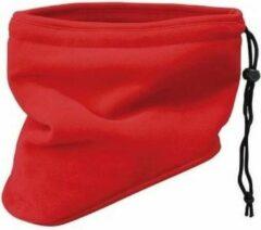 Thinsulate nekwarmer sjaal rood