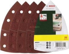 Bosch Schleifblatt-Set für Multischleifer, 25-teilig, 11 VPE: 5