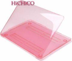 Macbook Pro Retina 15.4 inch Laptop Cover, Clear Hard Case Roze – HiCHiCO