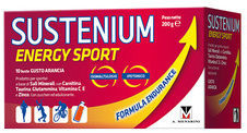 Menarini Sustenium Energy Sport allenamento intenso 10 bustine gusto arancia