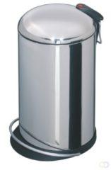 Roestvrijstalen Hailo Trento Topdesign Prullenbak - 16 l - RVS