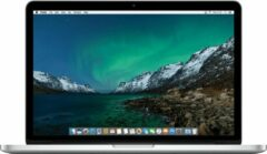 Zilveren Apple Refurbished Apple MacBook Pro Retina (Refurbished) - 13.3 inch (33 cm) - Dual Core i7 3.1 - 16GB - 512GB SSD - MacOS 11 Big Sur - B-grade