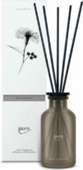 Ipuro classic line cachemire geurverspreider Glas, Kunststof Zwart, Bruin, Transparant Geurfles