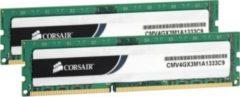 Corsair Microsystems Corsair Value Select - DDR3 - 8 GB: 2 x 4 GB CMV8GX3M2A1333C9