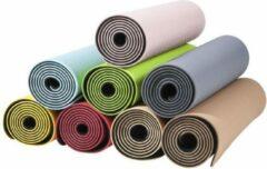 Zwarte Gorilla Sports Yogamat - Yoga Mat - Roze