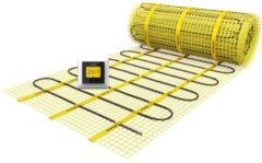 Gele Magnum Millimat elektrische vloerverwarming 900 watt, 6,0 m2 met klokthermostaat 201205