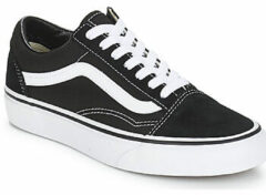 Witte Vans Old Skool Sneakers Unisex - Black/White - Maat 36.5