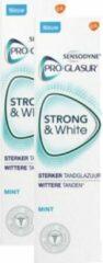 Sensodyne Tandpasta Strong & White Mint - Duopak