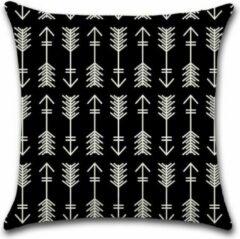 Zwarte By Javy Kussenhoes Acies - Eva - Kussenhoes - 45x45 cm - Sierkussen - Polyester