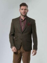 Groene Harris Tweed Jacket 633 - 102