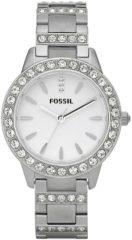 Fossil ES2362 Horloge staal zilverkleurig 34 mm